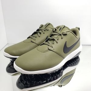 NEW- Retail $110, Nike Golf leather shoe  WATERPRO